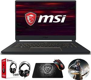 MSI GS65 Stealth-1667 (i7-9750H, 32GB RAM, 512GB NVMe SSD, RTX 2060 6GB, 15.6