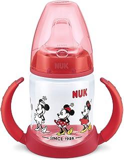 Nuk - Biberón Minnie Mouse de silicona, 150 ml + Nuk Mickey ...