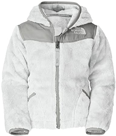 e33a478c1 The North Face Oso Hooded Fleece Jacket - Toddler Girls' TNF White, 3T