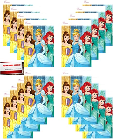 Amazon.com: Princess Dream Big Disney (16 Pack) Party Plastic Loot