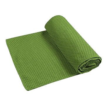 everchic antideslizante toalla de Yoga Mat 72 x 24,8 cm de ...