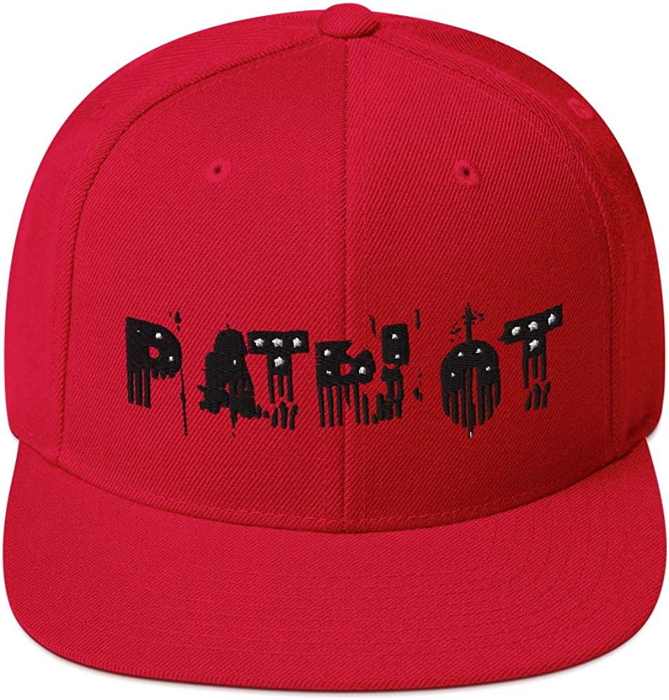 Heavy Barrel Designs Patriot Snapback Hat