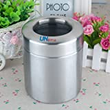 UName Stainless Steel Tissue Box/Waste Can, 1.2 L, UN048