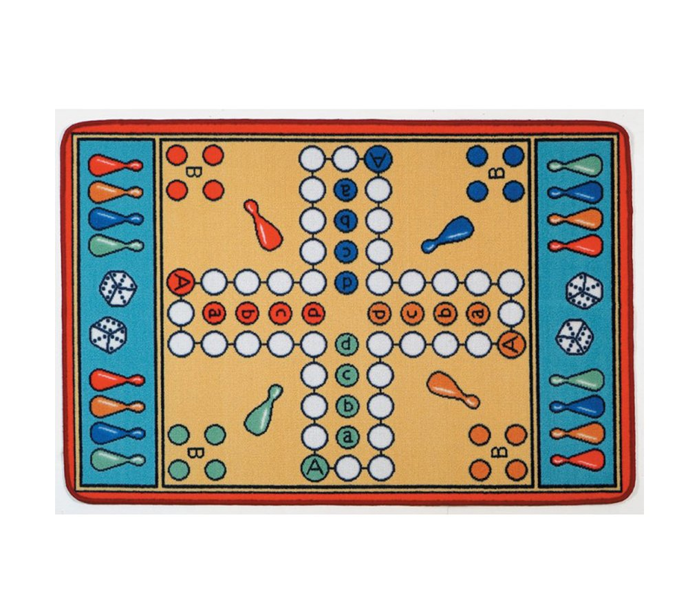 Learning Carpets Parcheesi LC 157