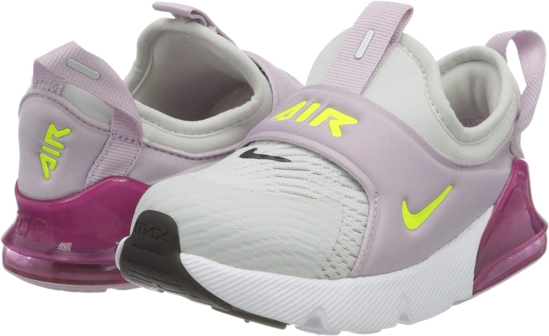 Nike Air MAX 270 Extreme (TD), Zapatillas de Gimnasio Unisex niños, Photon Dust Lemon Venom Iced Lilac Black, 22 EU: Amazon.es: Zapatos y complementos