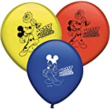 Verbetena, 014001346, pack 8 globos Disney Mickey Mouse y los superpilotos.