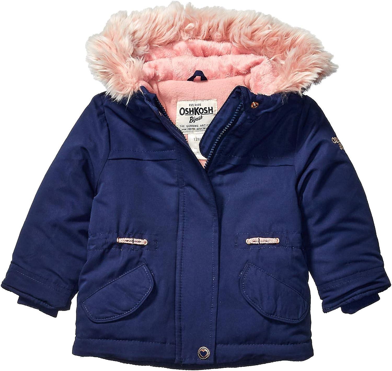 Osh Kosh Baby Girls Pretty Cool Parka Jacket