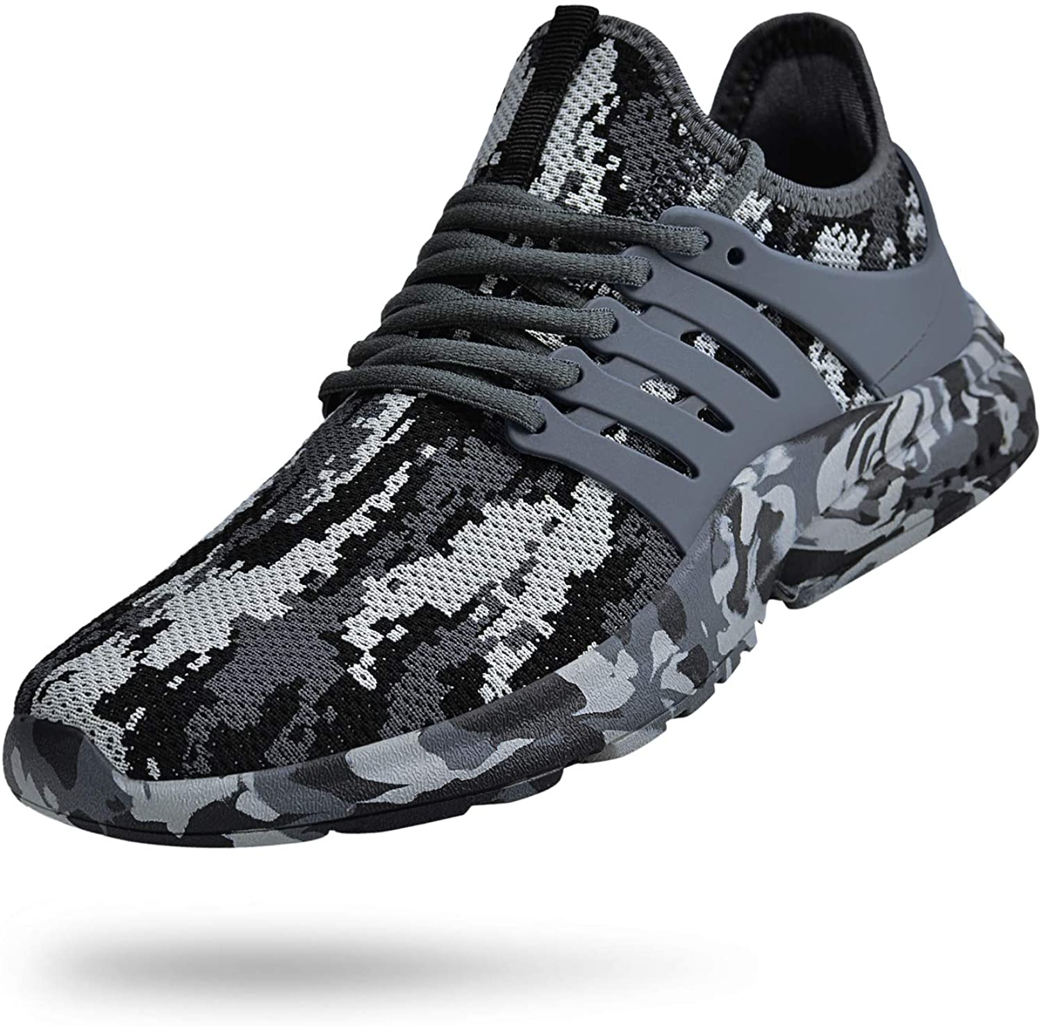   Biacolum Mens Running Shoes Non Slip Gym Tennis Shoes Slip Resistant Air Knitted Sneakers Walking Workout Sport Shoes   Walking