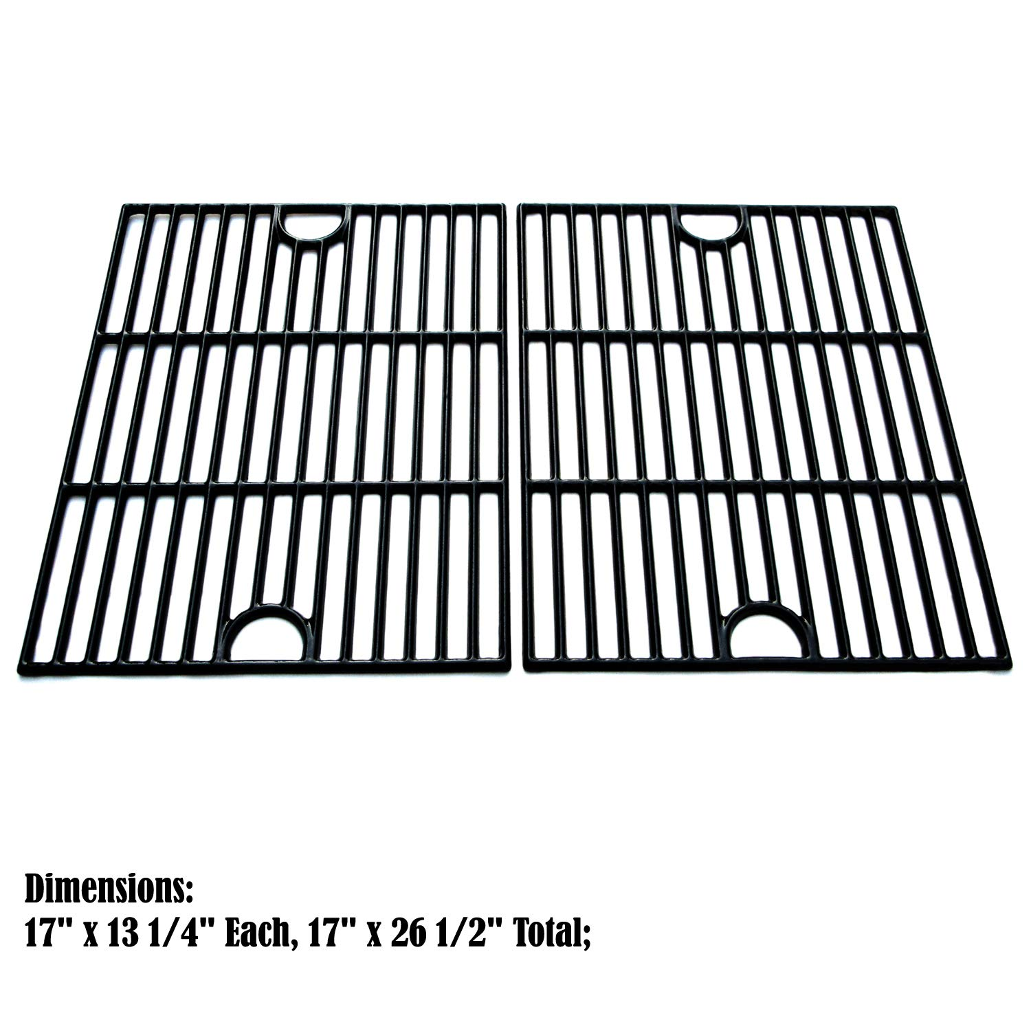 Direct store Parts DC104 Porcelain Cast Iron Cooking grid Replacement Kenmore, Uniflame, K-Mart, Nexgrill, Uberhaus Gas Grill
