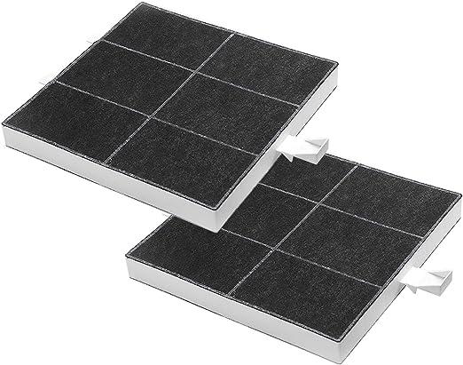 Filtro de carbón activado compatible con Bosch Neff Siemens Constructa Balay 00360732, 00357585, 360732 (2 unidades): Amazon.es: Hogar