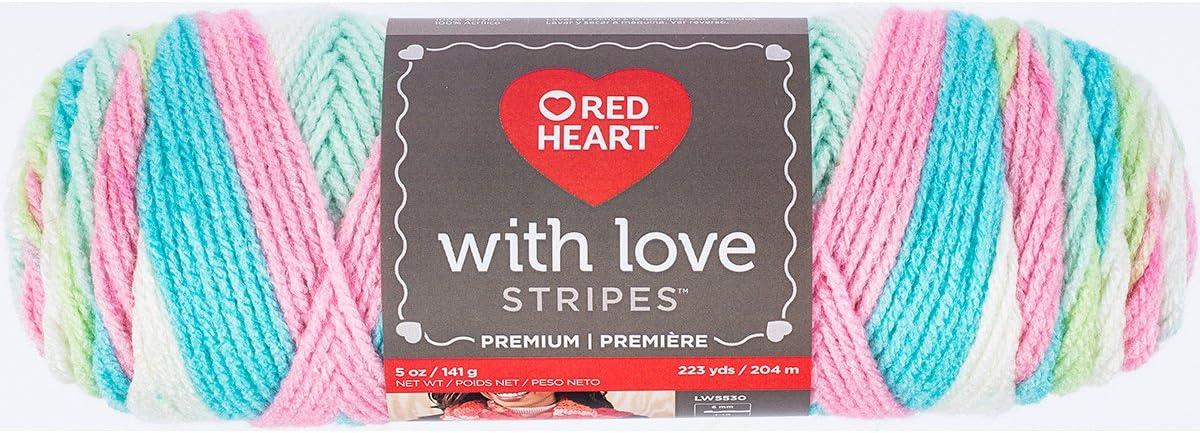 Red Heart E400.1101 with Love Yarn Eggshell