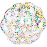 Party Balloon Sprinkles Confetti Balloon Pack - Ice Cream Sprinkle Balloons.(24PCS)