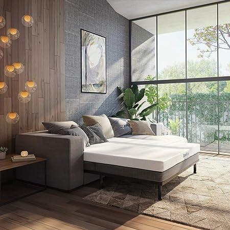 Classic Brands 4 5 Inch Cool Gel Memory Foam Replacement Mattress For Sleeper Sofa Bed Queen