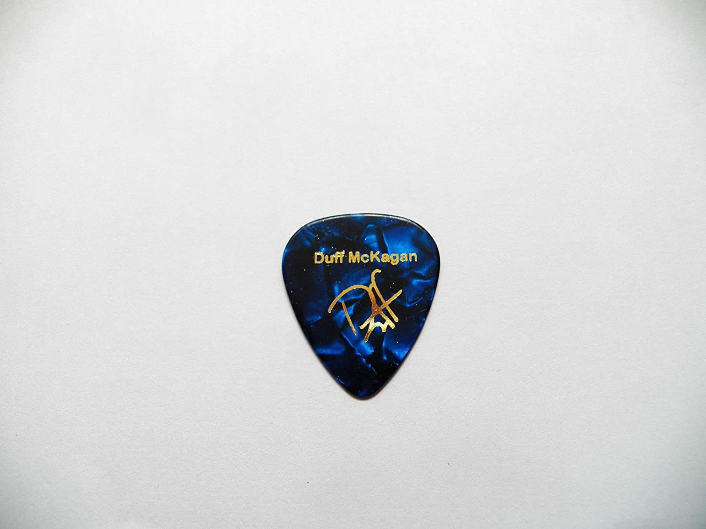 Duff McKagan firma estampada púa de guitarra púa pesados guns n Roses 0.96 mm, BLUE PEARL 0.96mm: Amazon.es: Instrumentos musicales