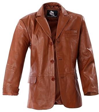 neuer & gebrauchter designer bestbewertet Rabatt zum Verkauf Bangla 2020 Herren Lederjacke Leder Blazer Sakko Braun M - 6XL