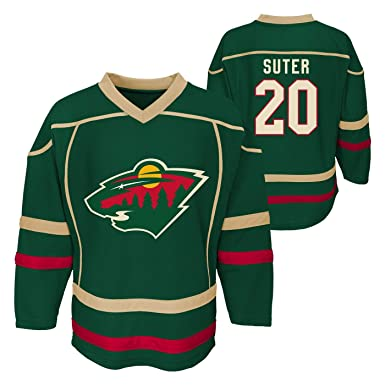 huge selection of a9d60 5a885 Outerstuff Ryan Suter Minnesota Wild #20 Green Youth Home Fashion Jersey
