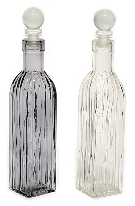 Decorative Glass Bottles With Stoppers