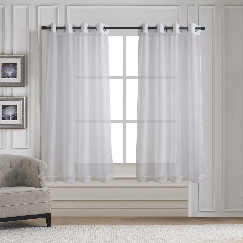 Under Curtain Sheers: Amazon.com
