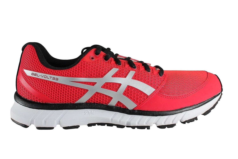 6bc56adbc999 ASICS Men s Running Shoes Rouge (Noir Argent)  Amazon.co.uk  Shoes   Bags