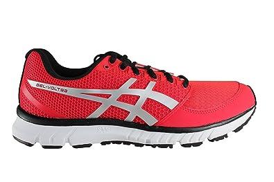 832215a374af ASICS Men s Running Shoes Rouge (Noir Argent)  Amazon.co.uk  Shoes ...