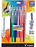 Pilot Frixion ColorSticks Erasable Gel Ink Pens, Fine Point (0.7mm), Assorted, 10 Count (32454) - .10 Pack