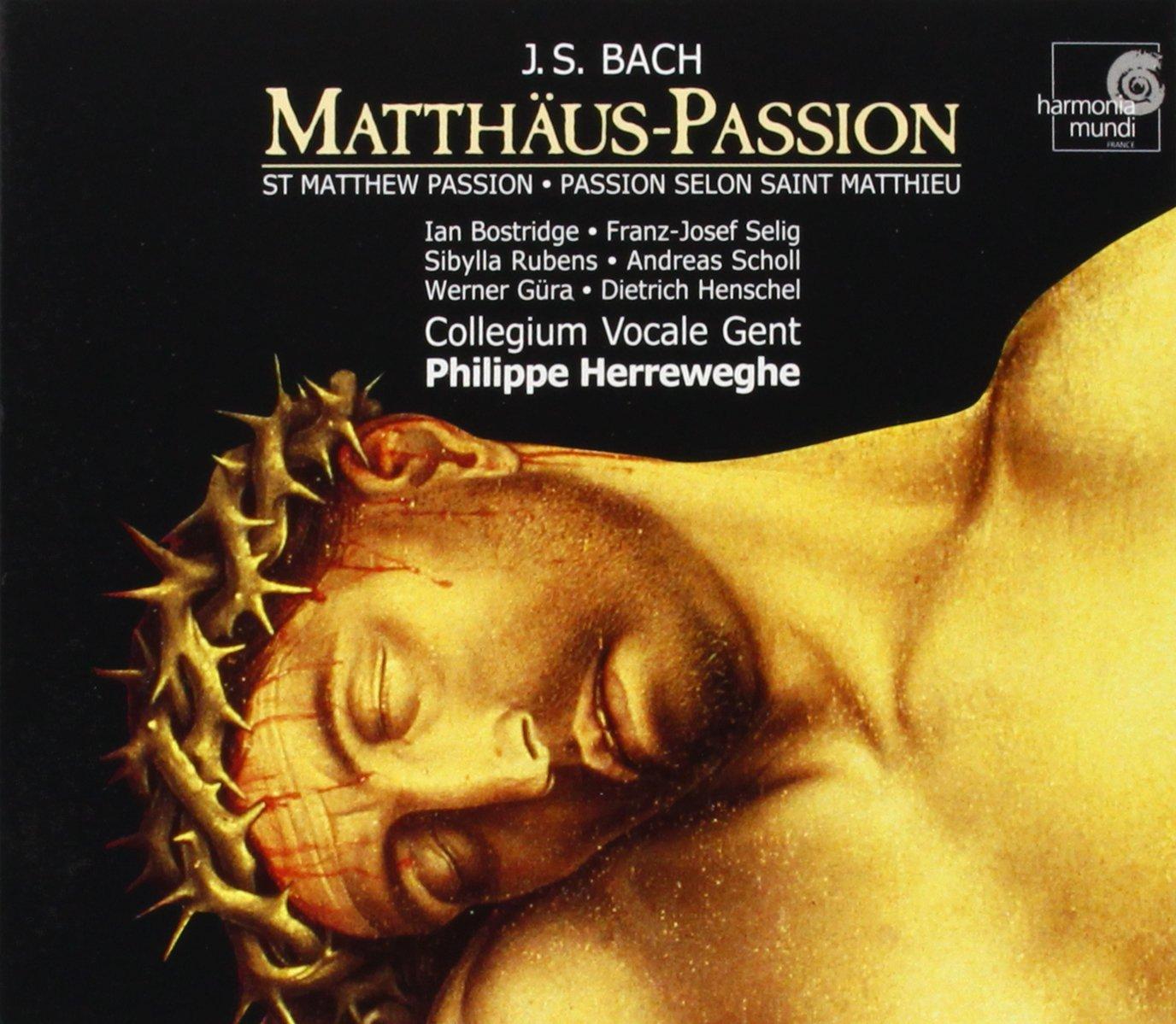 Bach, J.S.: St. Matthew Passion by HARMONIA MUNDI