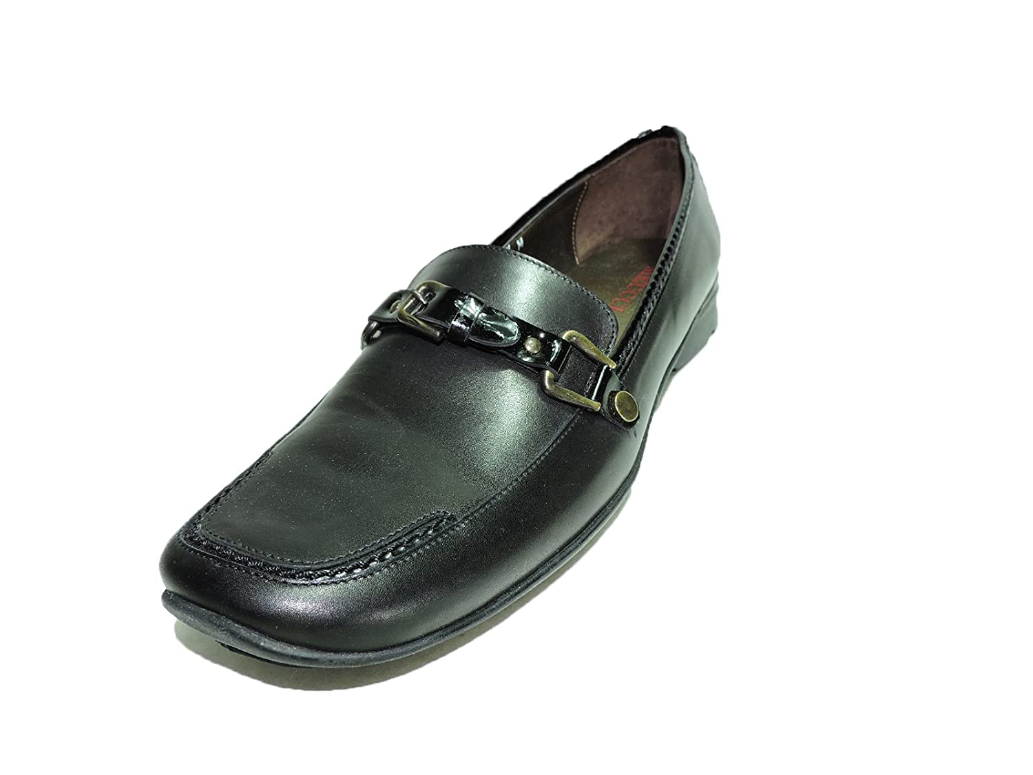 Sesto Meucci Womens Casee Black Leather Loafer Slip on Shoes Size 10 N, AA