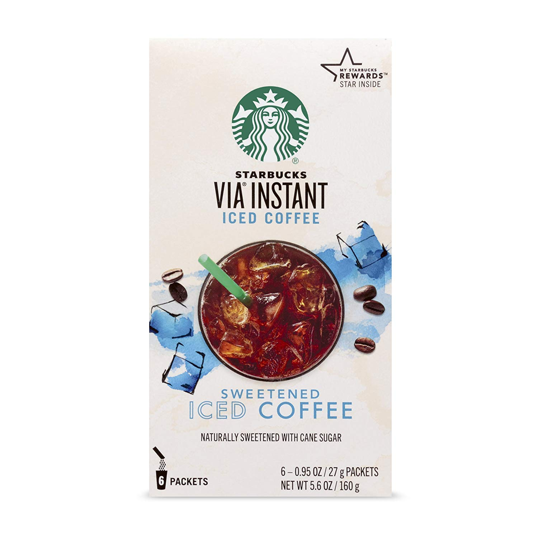 Starbucks VIA Instant Sweetened Iced Coffee