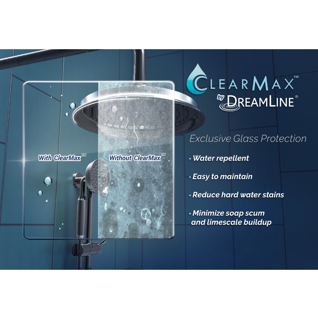 DreamLine SHDR-6360760-04  Essence 56 to 60 in. Frameless Bypass Shower Door in Brushed Nickel Finish by DreamLine (Image #10)