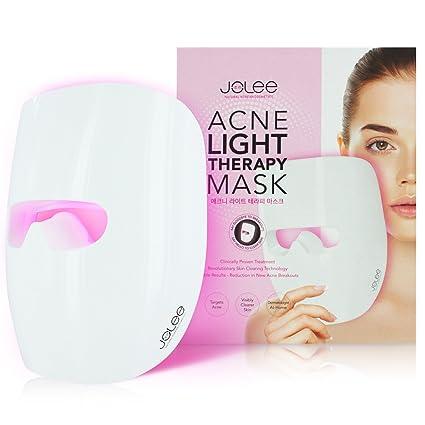 JoLee Máscara de Terapia Ligera Contra el Acne, Dermatológicamente Probada, Reduce el Acné,