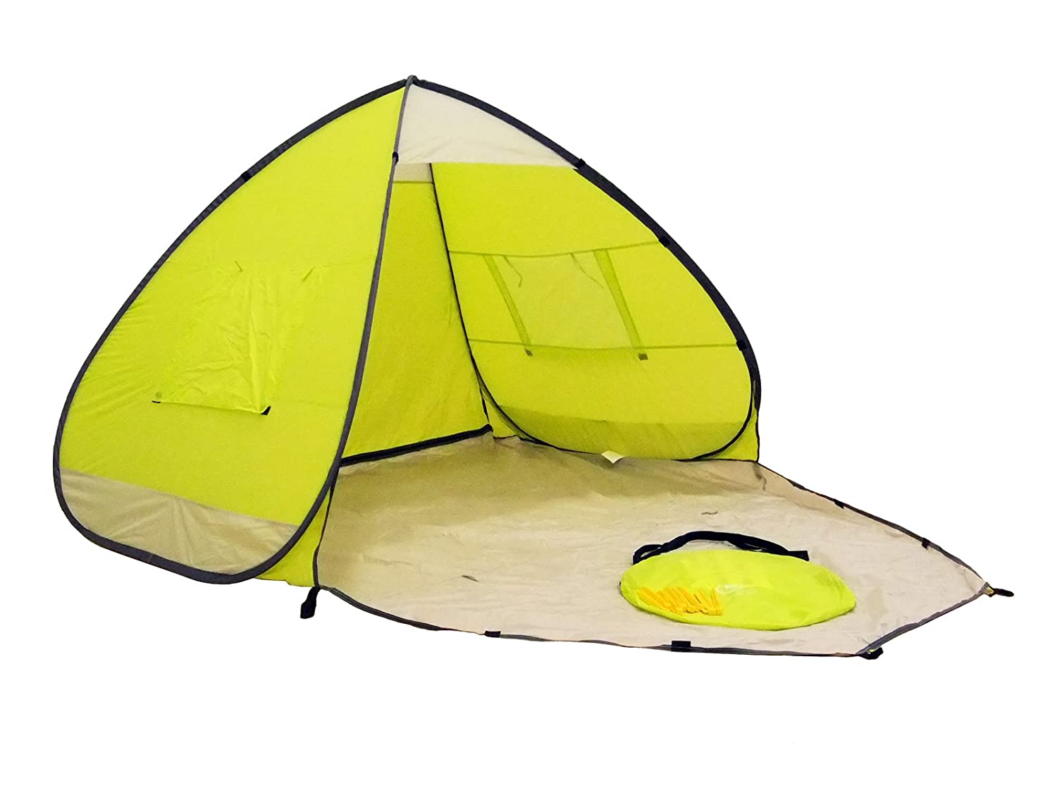 Amazon.com Genji Sports Pop Up Beach Tent with Extended Floor Sports u0026 Outdoors  sc 1 st  Amazon.com & Amazon.com: Genji Sports Pop Up Beach Tent with Extended Floor ...