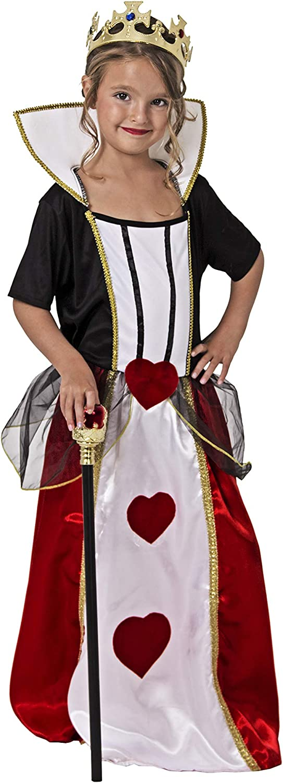 Costumizate! Disfraz de Reina de Corazones Talla 10-12 Especial ...