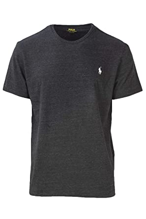 baabf06c3709 Amazon.com  Polo Ralph Lauren Men s Pony Logo Crew Neck T-Shirt ...