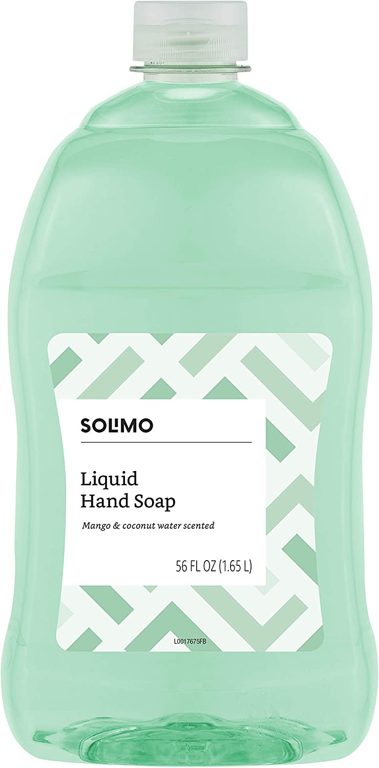 Amazon Brand - Solimo Liquid Hand Soap Refill