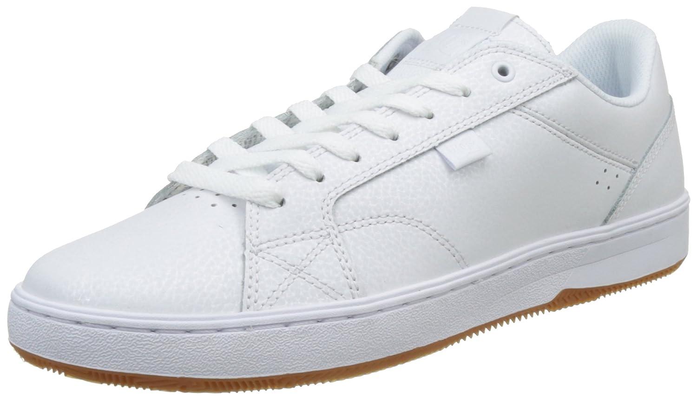DC Herren Astor Sneaker  Schwarz/Schwarz/Schwarz  One Size Weiss Weiss/Gum