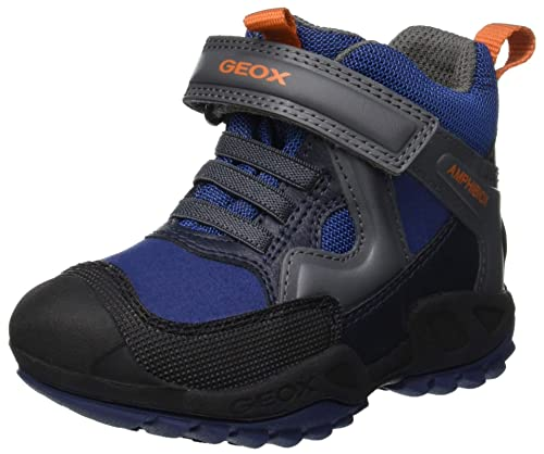 Geox J New Savage Boy B ABX A, Sneaker a Collo Alto Bambino