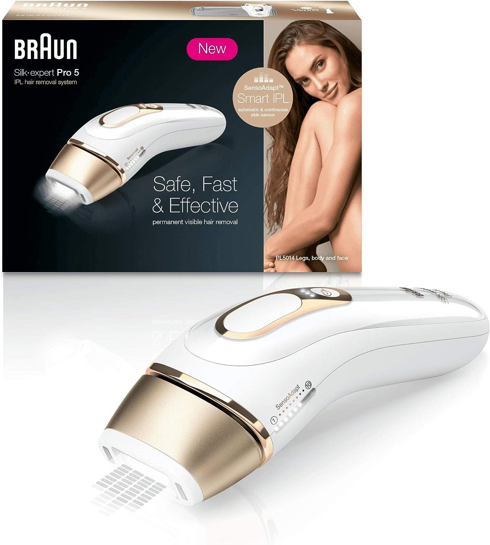 Imagen representativa de la Depiladora eléctrica Braun Silk Expert Pro 5 PL5014 disponible en Amazon