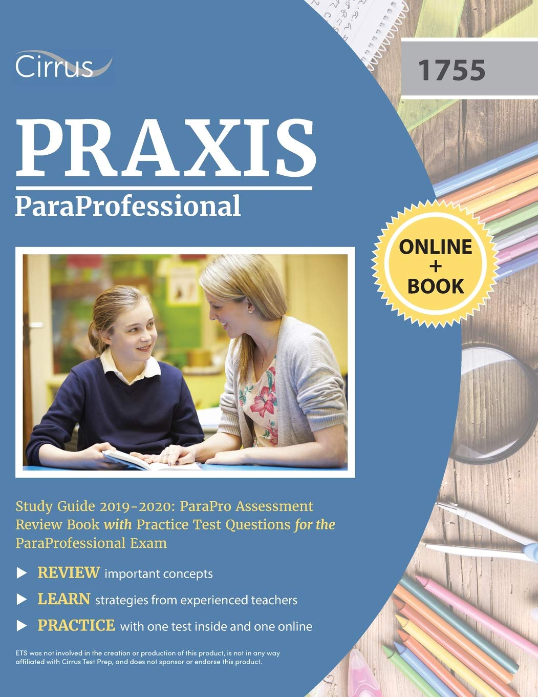 Paraprofessional study guide 2018: parapro assessment review book.