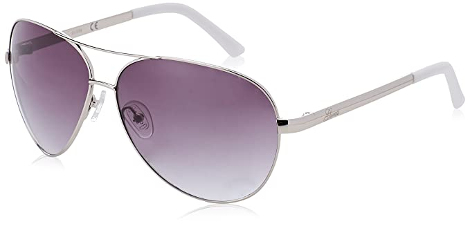 Womens Square Eye Sunglasses, Purple (Viola), 59 Guess