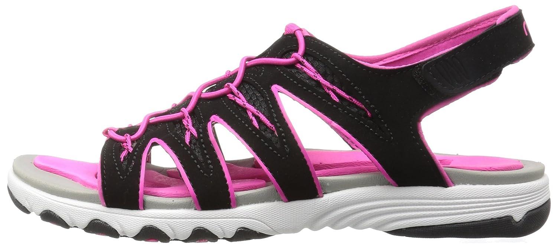 Ryka Women's Glance Athletic Sandal B01KWGQV3G 7 B(M) US|Black/Pink