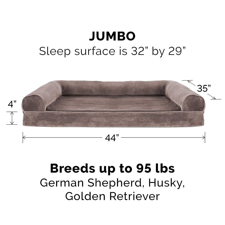 Amazon.com: Furhaven Cama para perro | Sofá ortopédico de ...