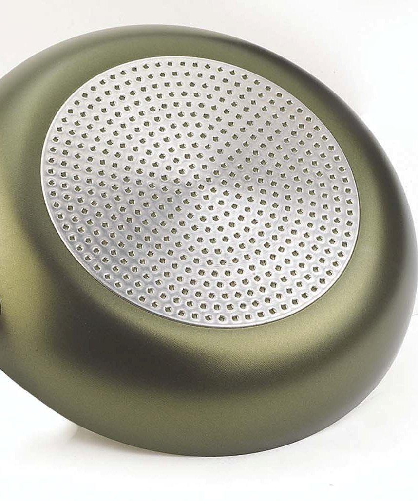 Pensofal 07PEN8728 Terre di Siena Bio-Ceramix Nonstick Grand Familia PastaSi Pasta Cooker with Lid, 7-Quart