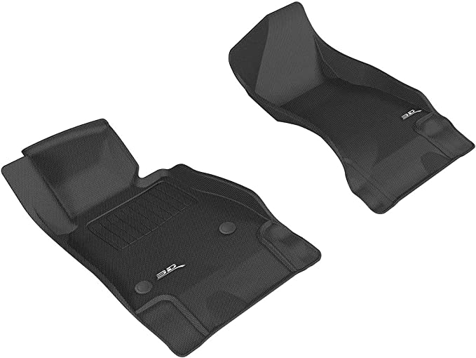 Tailored Carpet Car Floor Mats with Logo to FIT Vauxhall Meriva 2005 to 2010 Carsio L64-CARP-CUT-1316- 33x4 Black