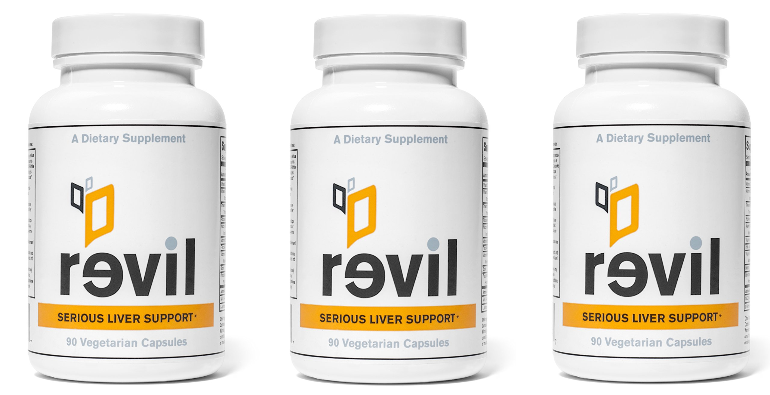 Revil: Serious Liver Support & Detox by WEL Essentials (90 Capsule 3-Pack)