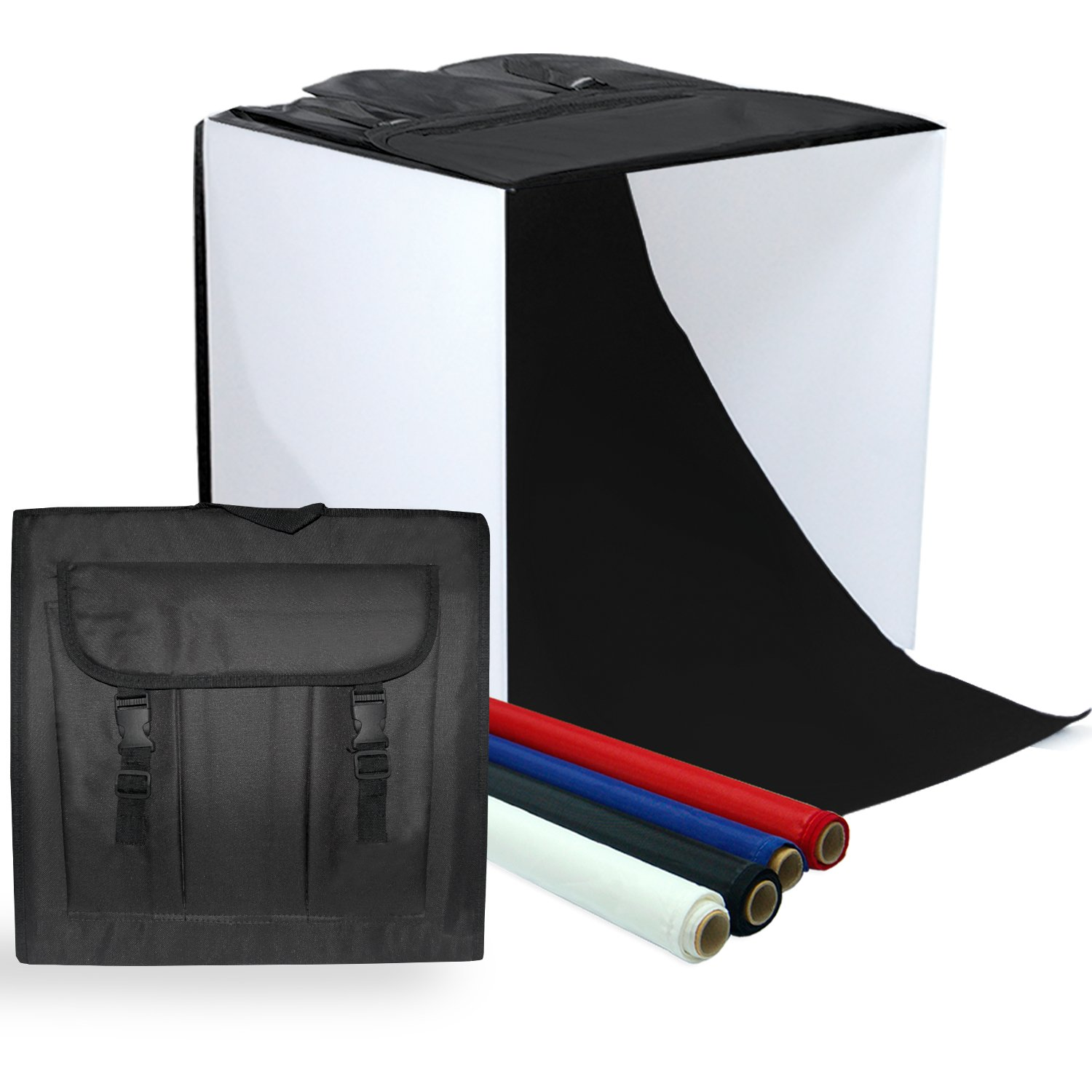 LimoStudio Photography Table Top Photo Light Tent Kit, 24'' Photo Light Box, Continous Lighting Kit, Camera Tripod & Cell Phone Holder AGG1069 by LimoStudio (Image #7)