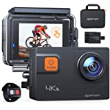 APEMAN A87 Action Camera 4K 60FPS Touch Screen Sports Camera 2.4G Remote Control 8X Zoom EIS 40M Waterproof Underwater…