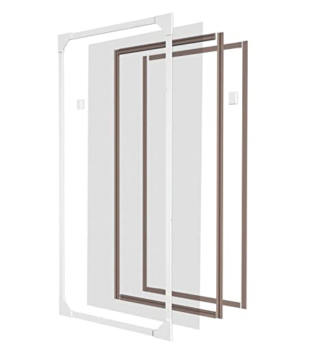 Style home® MF01-130150 Magnetic Plastic Fly Screen Window