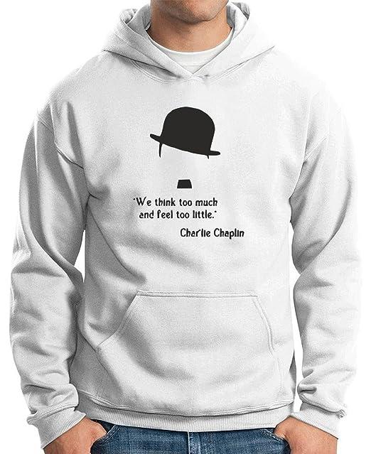 T-Shirtshock - Sudadera Hoodie CIT0052 charlie chaplin, Talla XXL: Amazon.es: Ropa y accesorios