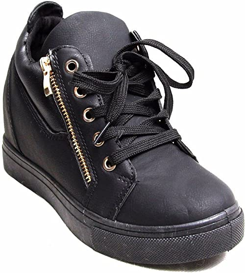 Womens Casual Sneakers Skater Ankle