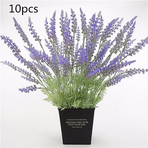 Lifestyle Nice 30pcs 51cm Kunstliche Blumen Lila Lavendel Braut